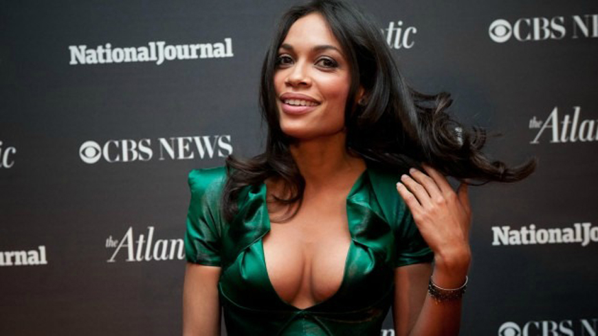 Rosario Dawson boobs