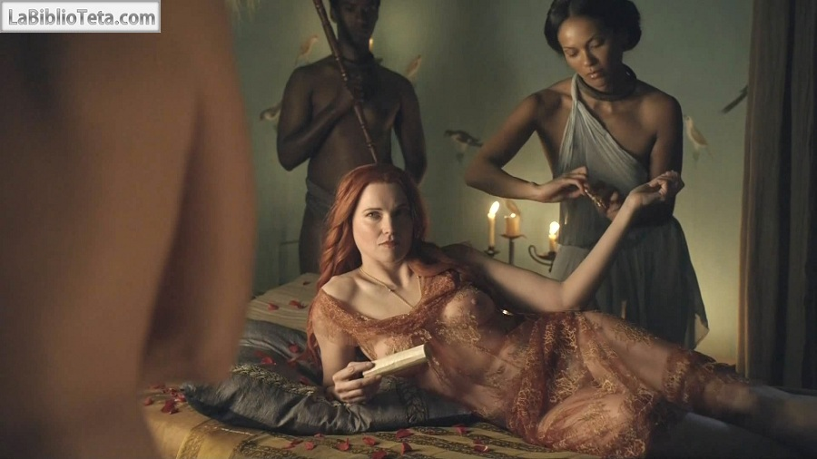 Todas Las Escenas De Lucy Lawless Desnuda En Spartacus Blood And Sand
