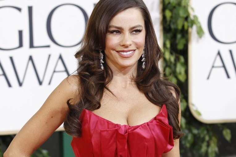 Sofia Vergara Golden Globes 2011