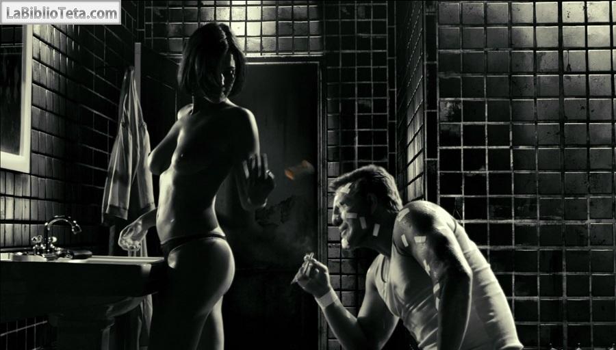 Escena desnuda de Sin City