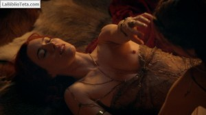 Jamie Murray y Lucy Lawless - Spartacus 04