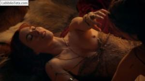 Jamie Murray y Lucy Lawless - Spartacus 04