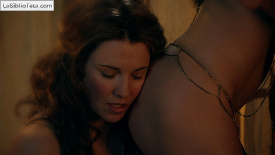 Lucy lawless amp jaime murray threesome sex in spartacus series 2