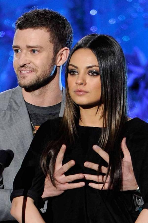 Justin Timberlake y Mila Kunis 01