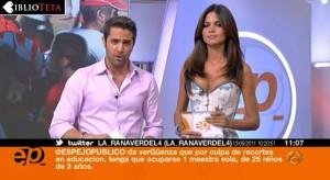 Romina Belluscio -  Espejo Publico corse 04