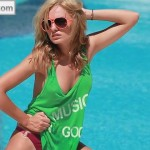Alexandra Stan - FHM making of 14