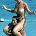 Marlene Mourreau topless 05