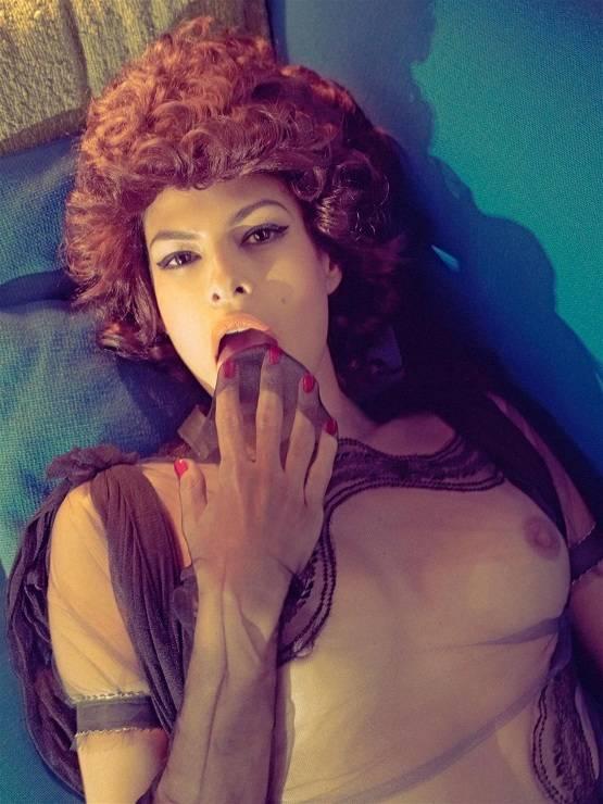 Eva mendez desnuda italiana vogue mag