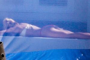Shakira thong Miami 07