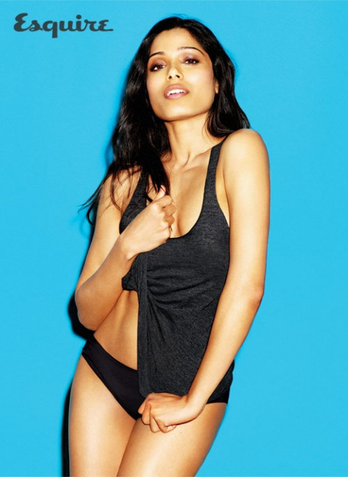 Have freida pinto esquire simply ridiculous