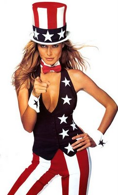Heidi Klum uncle sam