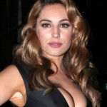 Kelly Brook - London Fashion Week 09