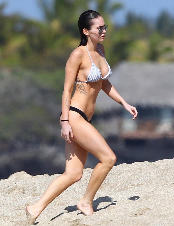 Megn Fox Hawaii bikini