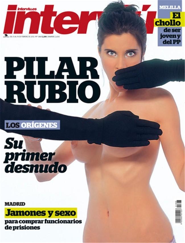 Pilar Rubio desnuda Interviu 01