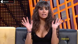 Cristina Pedroche escotazo negro 05