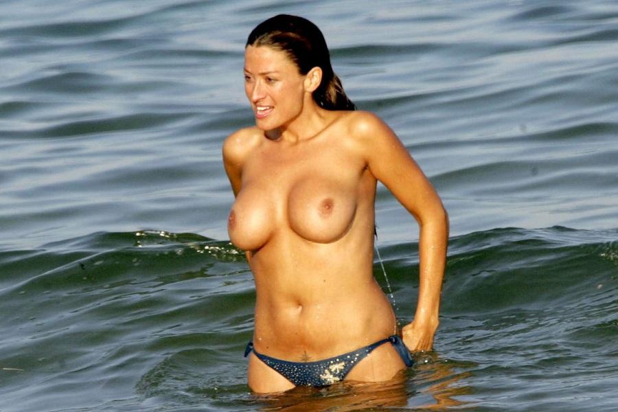 Rebeca Loos en topless
