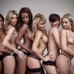 Seis grandes hermanas posan juntas y en topless para Primera Línea