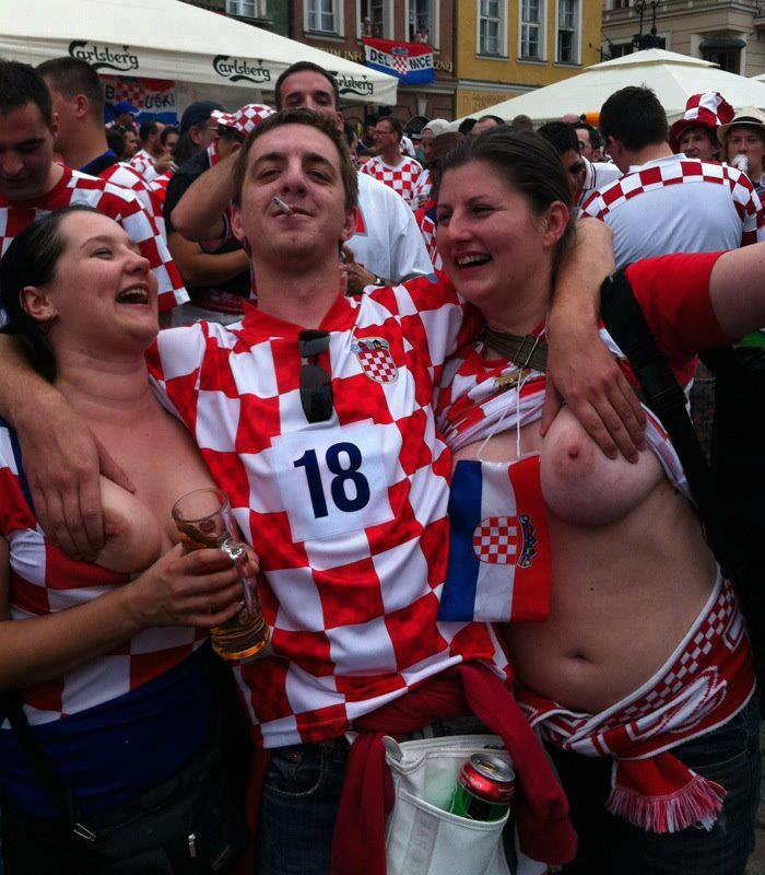 Croatia boobs 00
