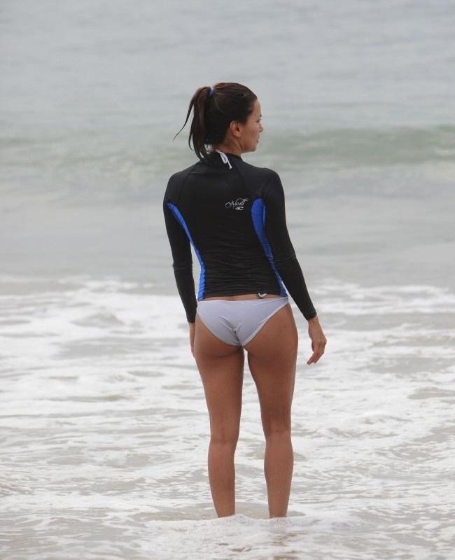 Eva Longoria bikini LA