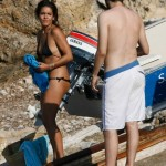 Lorena Castell topless Ibiza 06