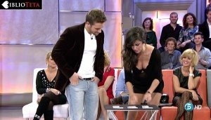 Ines Molina escote Pablo Alboran 13