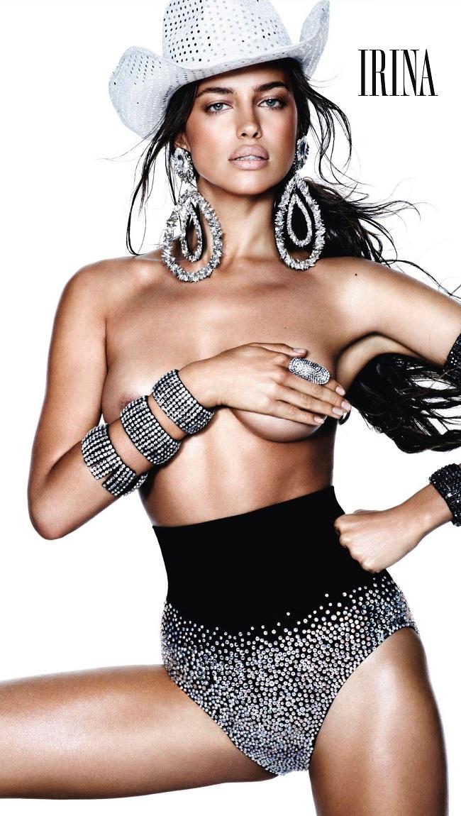 Irina Shayk Vogue
