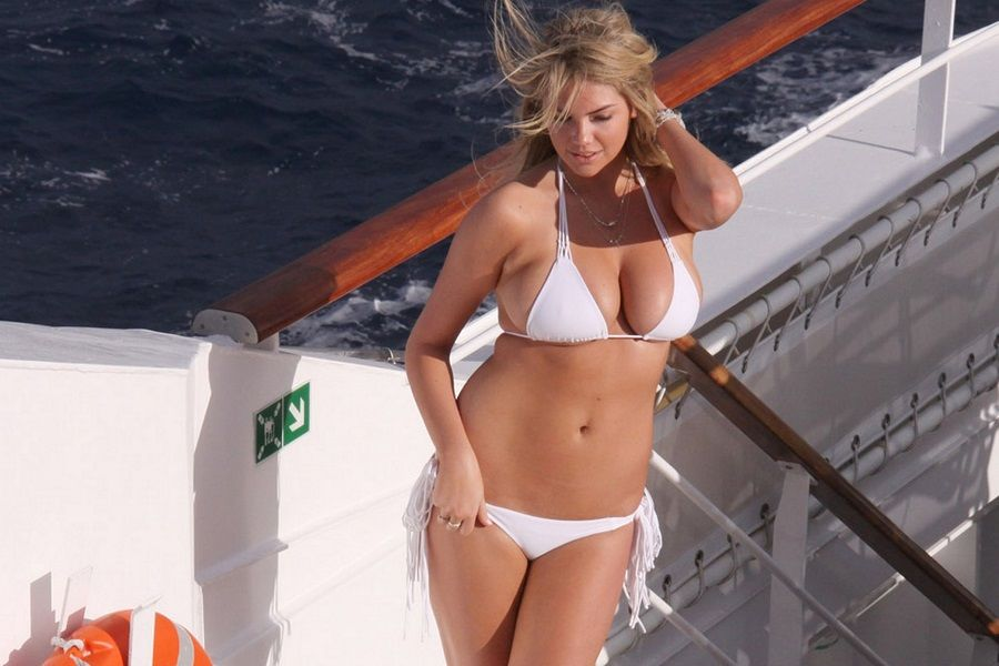 Kate Upton - Antartida Sports Illustrated 01