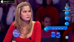 Natalia Sanchez - Pasapalabra 04