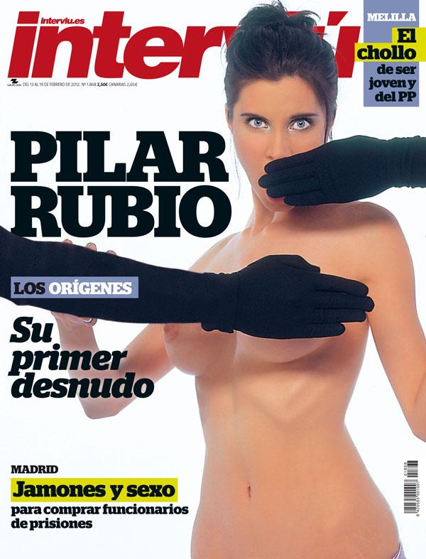 Pilar Rubio - Interviu portada