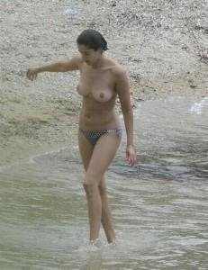 Blanca Romero topless 04