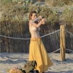 Kira Miro topless 02