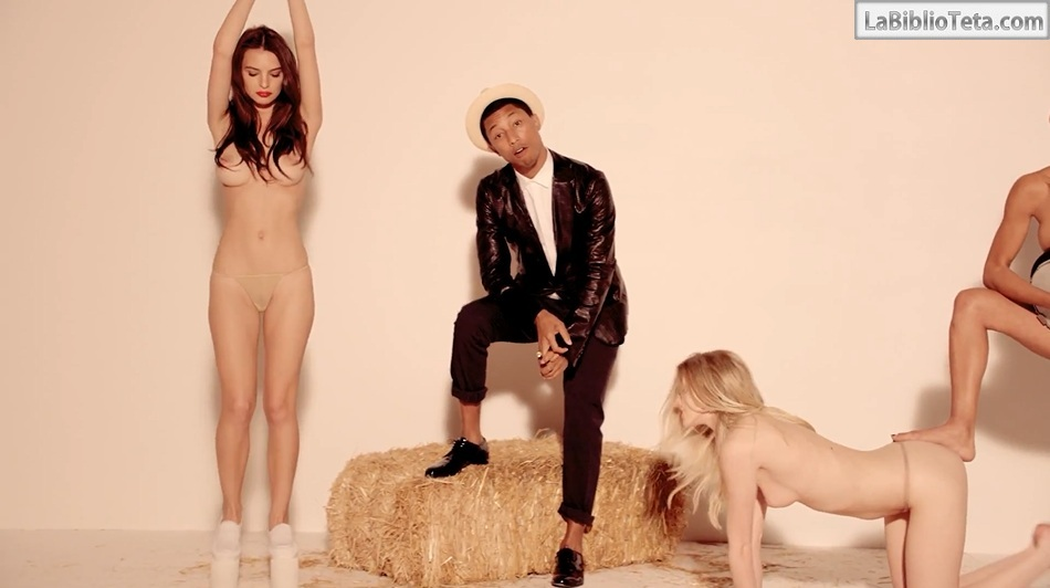 Nude pics robin thicke usual
