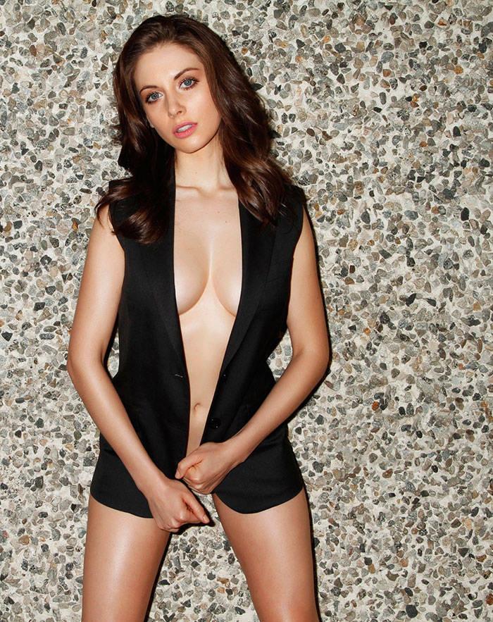Alison Brie - Esquire