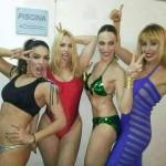 Daniela Blume, Nerea Garmendia y Lorena Castell