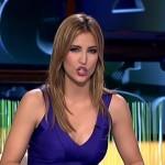 Sandra Sabatés, preciosa una vez más presentando El Intermedio