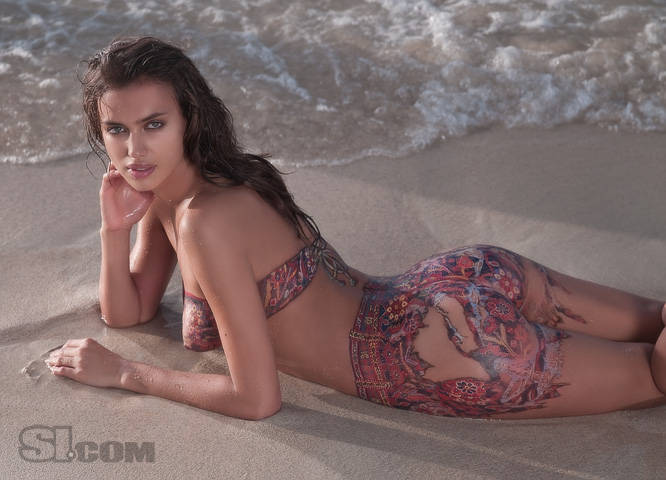 Irina Shayk - SI Bodypaint 01