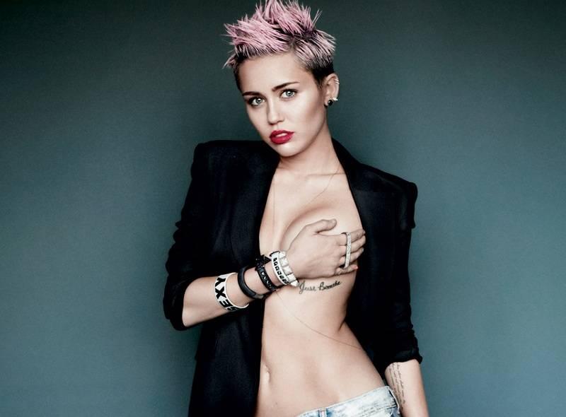Miley Cyrus - V Magazine 01