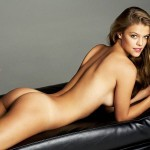 Nina Agdal desnuda en las fotos descartadas de su posado para Esquire