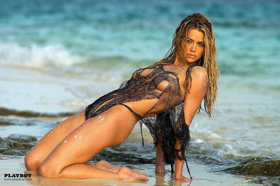 Denise Richards Desnuda Posando Para Playboy