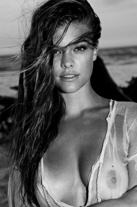 Nina Agdal - Antoine Verglas Photoshoot 02