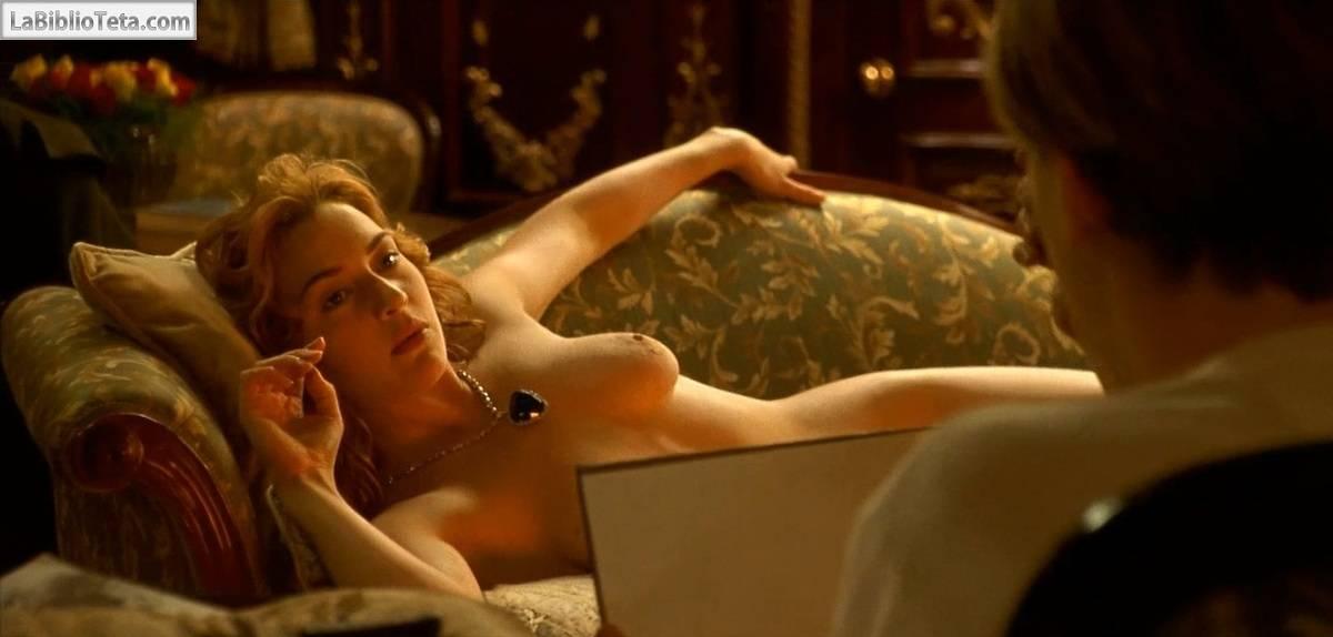 Kate Winslet Desnuda y Follando en El
