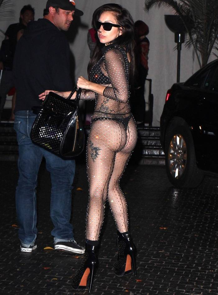 Lady Gaga transparencias