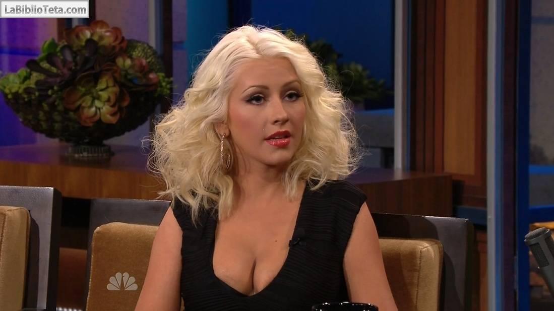 Christina Aguilera - Jay Leno 01