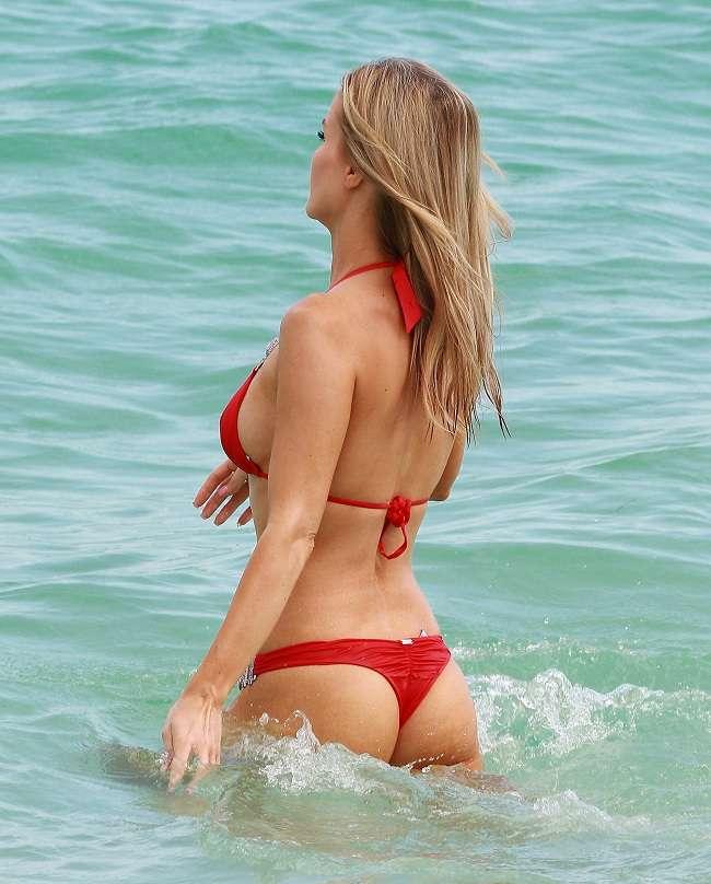 Joanna Krupa - Miami Thong 01