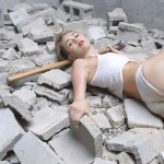 Miley Cyrus - Wrecking Ball Music Video 11