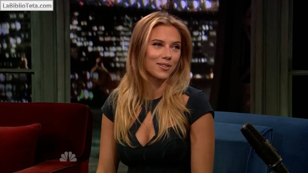 Scarlett Johansson - Jimmy Fallon 01