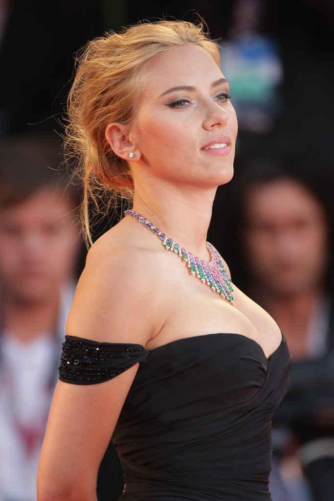 Scarlett Johansson - Under The Skin - Venice Film Festival 01