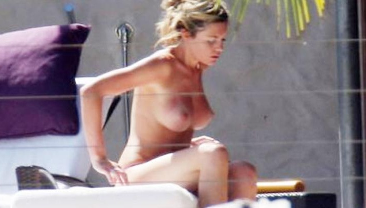 Abigail Clancy topless 01