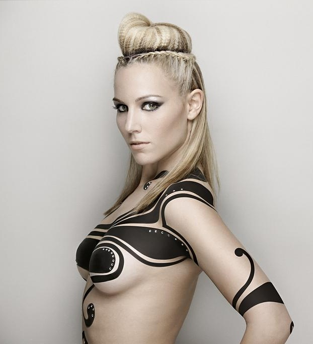 Edurne - body painting 01