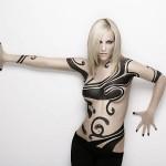 Edurne - body painting 04